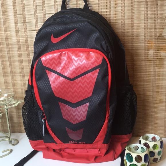 Nike Bags | Nike Max Air Backpack Red